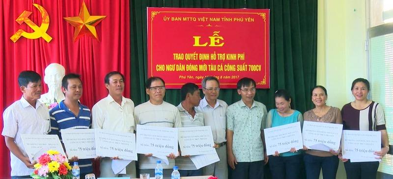 Phú Yên: Hỗ trợ hơn 850 triệu đồng cho ngư dân đóng mới tàu cá