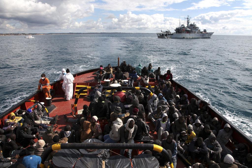 Số lượng người nhập cư và tị nạn ở châu Âu giảm mạnh