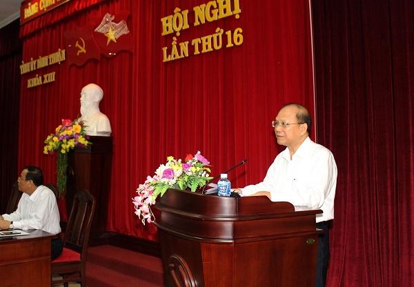 Bình Thuận: Thông qua Chương trình hành động triển khai thực hiện Nghị quyết Hội nghị Trung ương 5 (khóa XII)