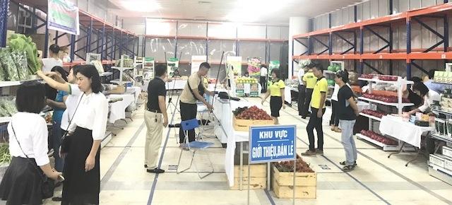 Thêm cơ hội mua sắm nông sản, thực phẩm an toàn