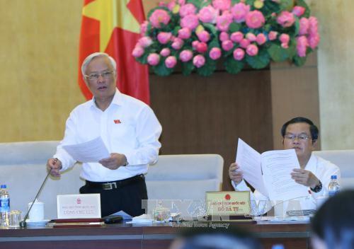 Uỷ ban Thường vụ Quốc hội đồng tình thành lập Tòa án nhân dân, Viện Kiểm sát nhân dân thành phố Sầm Sơn