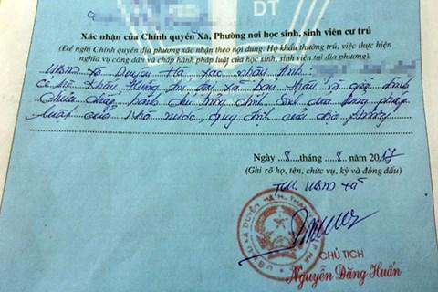 Chủ tịch TP Hà Nội yêu cầu kiểm điểm cán bộ xác nhận lý lịch công dân sai quy định