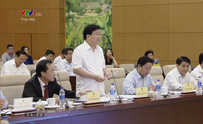 Phó Thủ tướng Trịnh Đình Dũng: Quy hoạch ở một số nơi còn tùy tiện