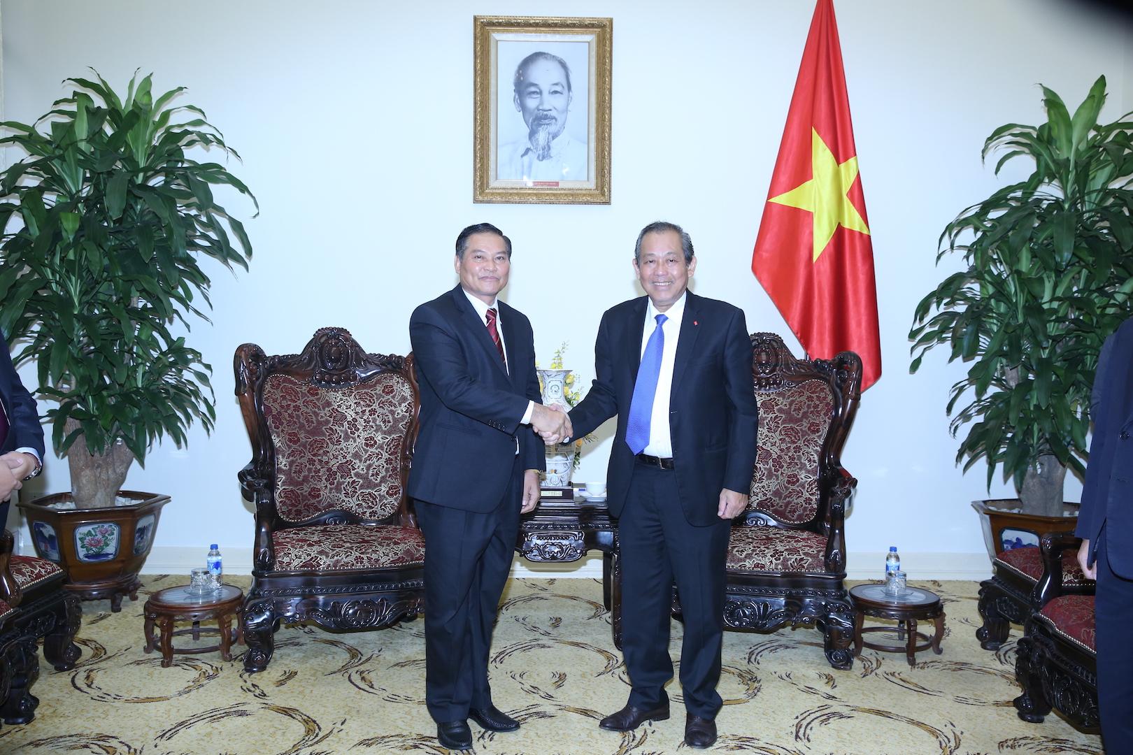 Tăng cường quan hệ hợp tác trong lĩnh vực tôn giáo Việt Nam - Lào