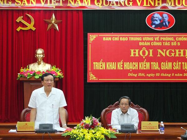Triển khai kế hoạch kiểm tra, giám sát phòng, chống tham nhũng tại tỉnh Quảng Bình