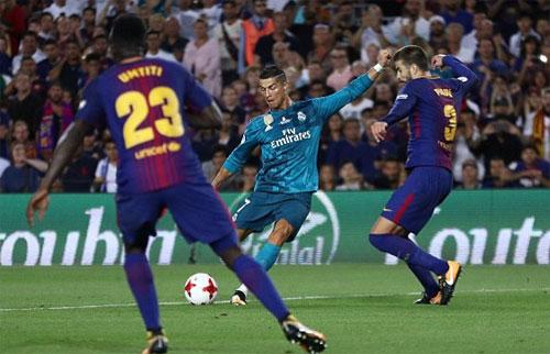 Siêu cúp Tây Ban Nha: Real Madrid giành chiến thắng áp đảo trước Barcelona