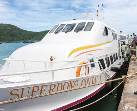 Thêm một tuyến giao thông ra Côn Đảo (Bà Rịa - Vũng Tàu)