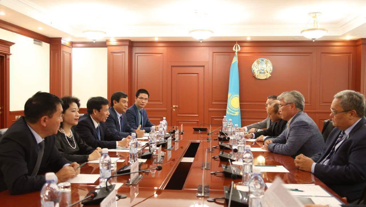 Việt Nam và Kazakhstan tăng cường hợp tác trong lĩnh vực văn hóa, thể thao