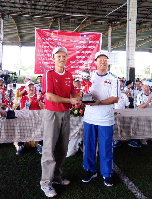 Giao lưu thể thao Hữu nghị Lào – Việt Nam