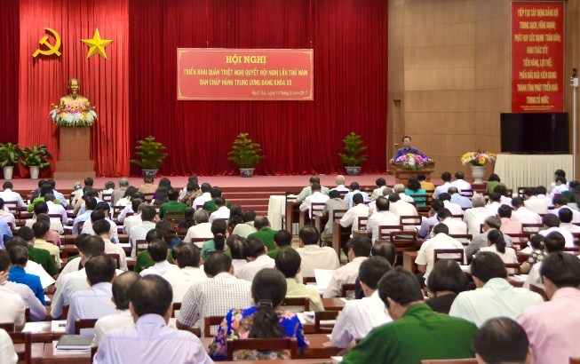 Kiên Giang quán triệt, triển khai nghị quyết Trung ương 5 (khóa XII)