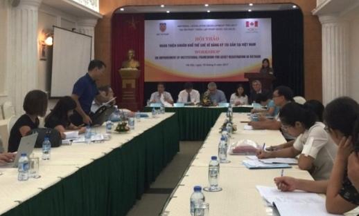 Hoàn thiện thể chế về đăng ký tài sản tại Việt Nam