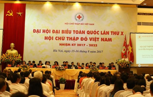 Hội Chữ thập đỏ Việt Nam xứng đáng là tổ chức nòng cốt trong các hoạt động nhân đạo