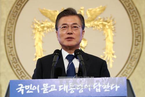 Tổng thống Hàn Quốc đánh dấu 100 ngày đầu tiên cầm quyền, cam kết tăng cường nổ lực cải cách