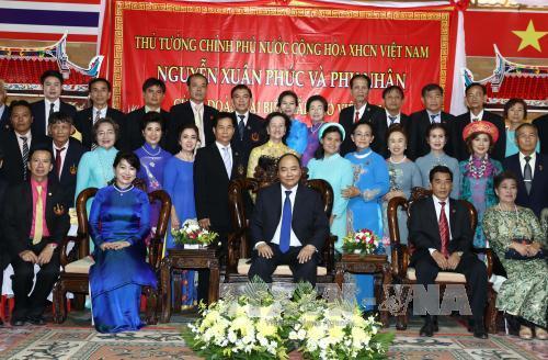 Thủ tướng Nguyễn Xuân Phúc gặp mặt các hội đoàn và cộng đồng Việt kiều toàn Thái Lan