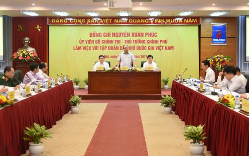 Mục tiêu của Chính phủ là xây dựng PVN phát triển bền vững