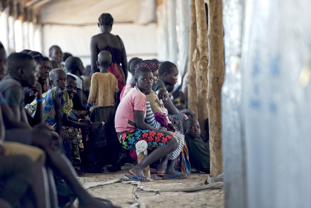 Số lượng người tị nạn Nam Sudan ở Uganda không ngừng gia tăng