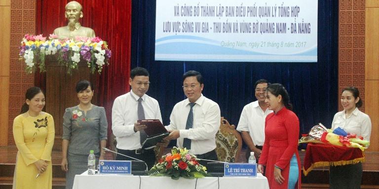 Phối hợp quản lý sông Vu Gia - Thu Bồn và vùng bờ Quảng Nam - Đà Nẵng
