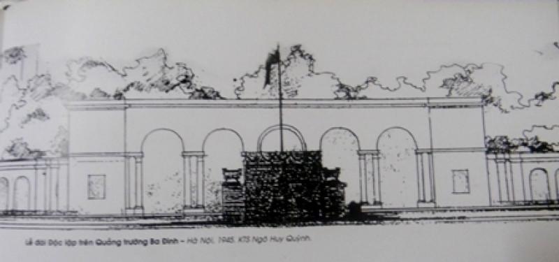 Người thiết kế Lễ đài Độc lập trên Quảng trường Ba Đình ngày 2/9/1945 quê Hưng Yên