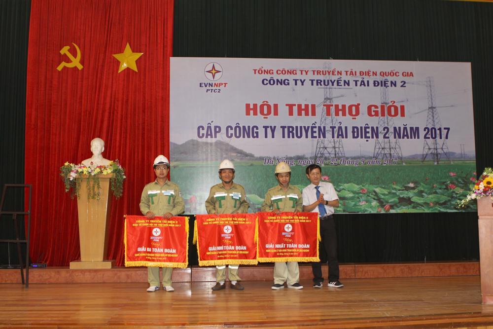 Công ty Truyền tải điện 2 tổ chức Hội thi thợ giỏi năm 2017