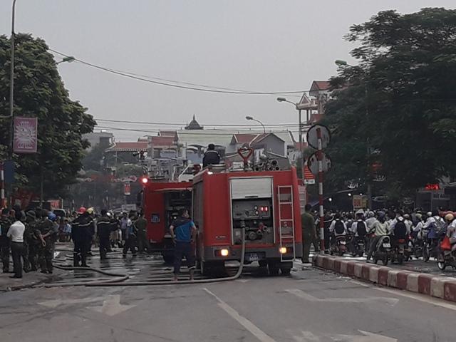 Hà Nội xảy ra 590 vụ cháy trong 9 tháng đầu năm 2017