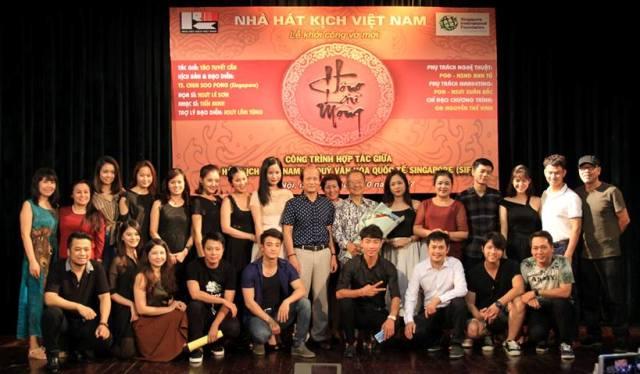 """Nhà hát Kịch Việt Nam dàn dựng vở """"Hồng lâu mộng"""""""
