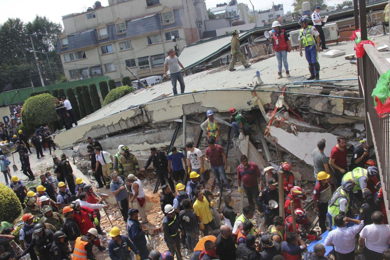 Động đất kinh hoàng ở Mexico: 248 người đã thiệt mạng