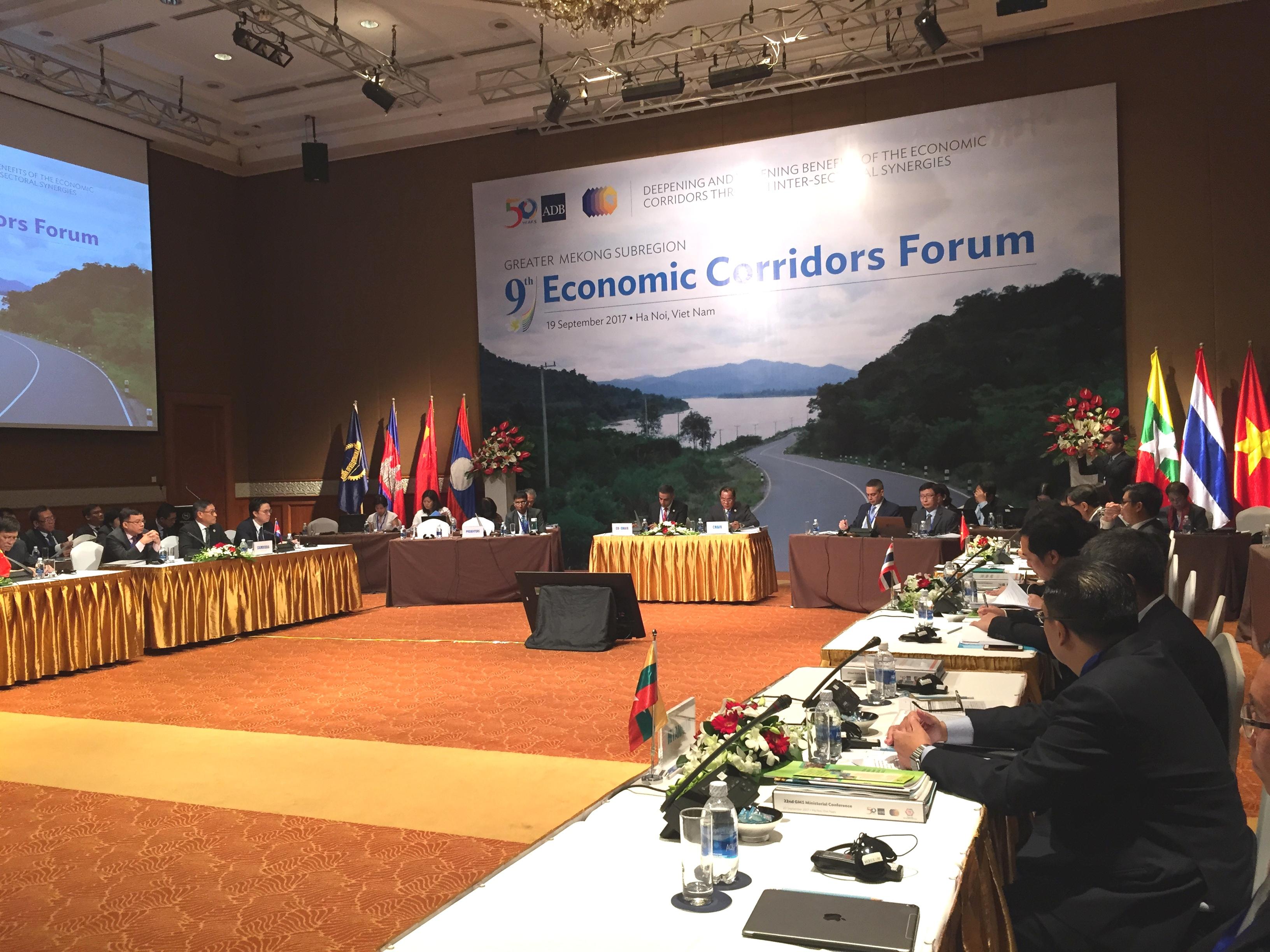Tăng cường hợp tác Kinh tế Tiểu vùng Mekong mở rộng
