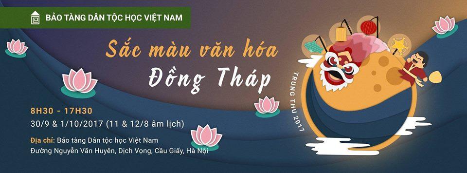 """""""Sắc màu văn hóa Đồng Tháp"""" tại Bảo tàng Dân tộc học Việt Nam"""