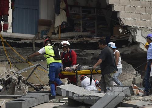 Động đất mạnh ở Mexico: Hơn 100 người thiệt mạng