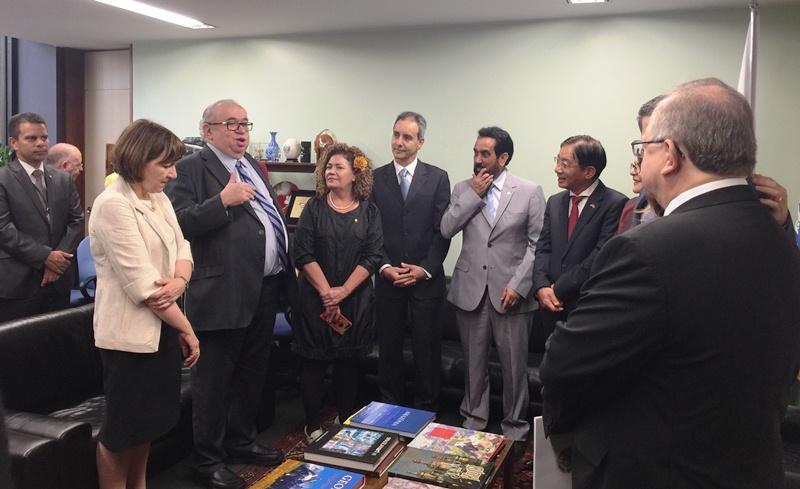 Công bố Nhóm Nghị sĩ hữu nghị Brasil – Việt Nam nhiệm kỳ 2017 - 2019
