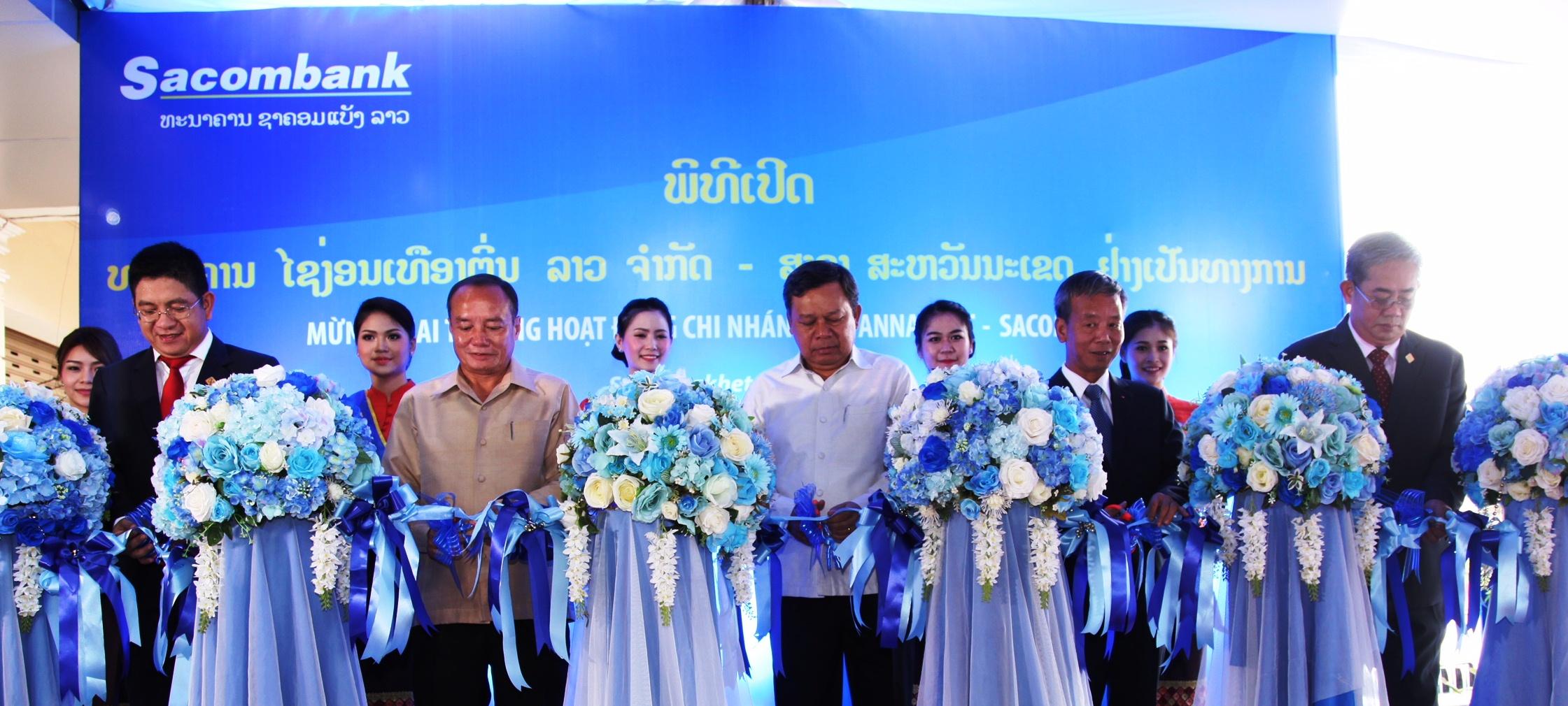Sacombank đồng hành cùng sự phát triển kinh tế Lào