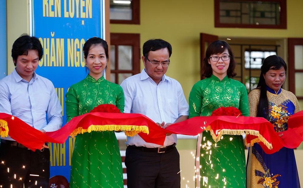 Khánh thành 3 công trình trường học do EVN tài trợ xây dựng tại tỉnh Thái Bình