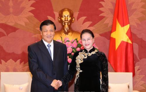 Thủ tướng Chính phủ, Chủ tịch Quốc hội tiếp đoàn đại biểu Đảng Cộng sản Trung Quốc