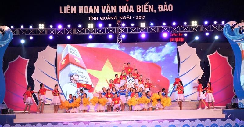 Quảng Ngãi: Khai mạc Liên hoan Văn hóa biển, đảo năm 2017