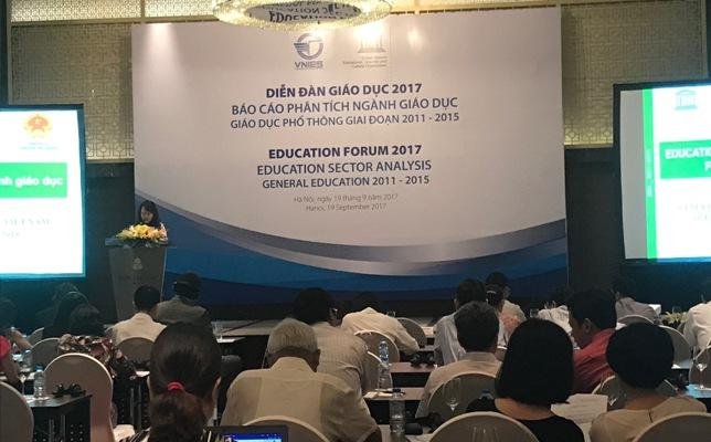 Diễn đàn giáo dục Việt Nam 2017