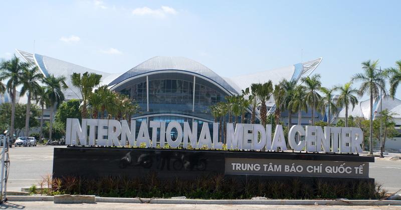 Cận cảnh Trung tâm Báo chí Quốc tế phục vụ Tuần lễ Cấp cao APEC 2017
