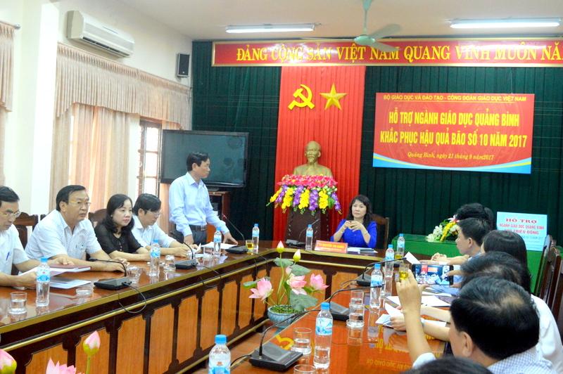 Quảng Bình cần sớm khôi việc dạy và học