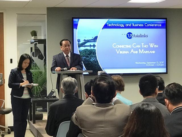 Hòa Lạc kết nối đầu tư và chuyển giao công nghệ cho Cần Thơ tại Hoa Kỳ