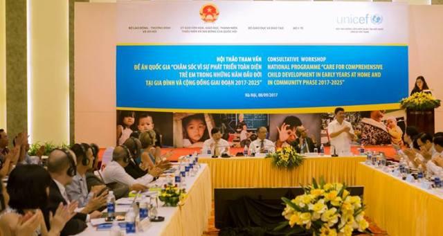 Hội thảo tham vấn Đề án quốc gia về phát triển trẻ thơ toàn diện