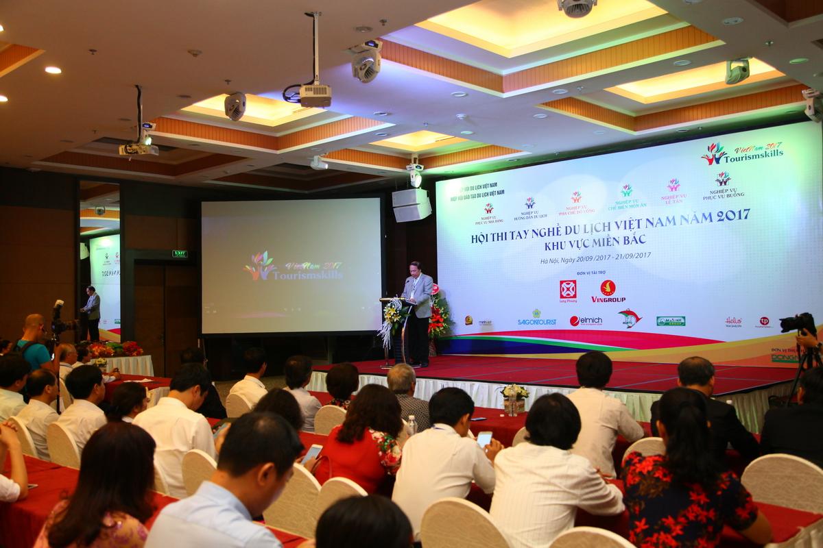Hội thi tay nghề du lịch Việt Nam năm 2017 khu vực miền Bắc