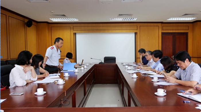 Thanh tra chuyên ngành tại Viện Hàn lâm Khoa học & Công nghệ Việt Nam