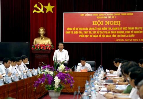 Lai Châu chưa phát hiện vụ việc sai phạm lớn về kinh tế hoặc có dấu hiệu tham nhũng
