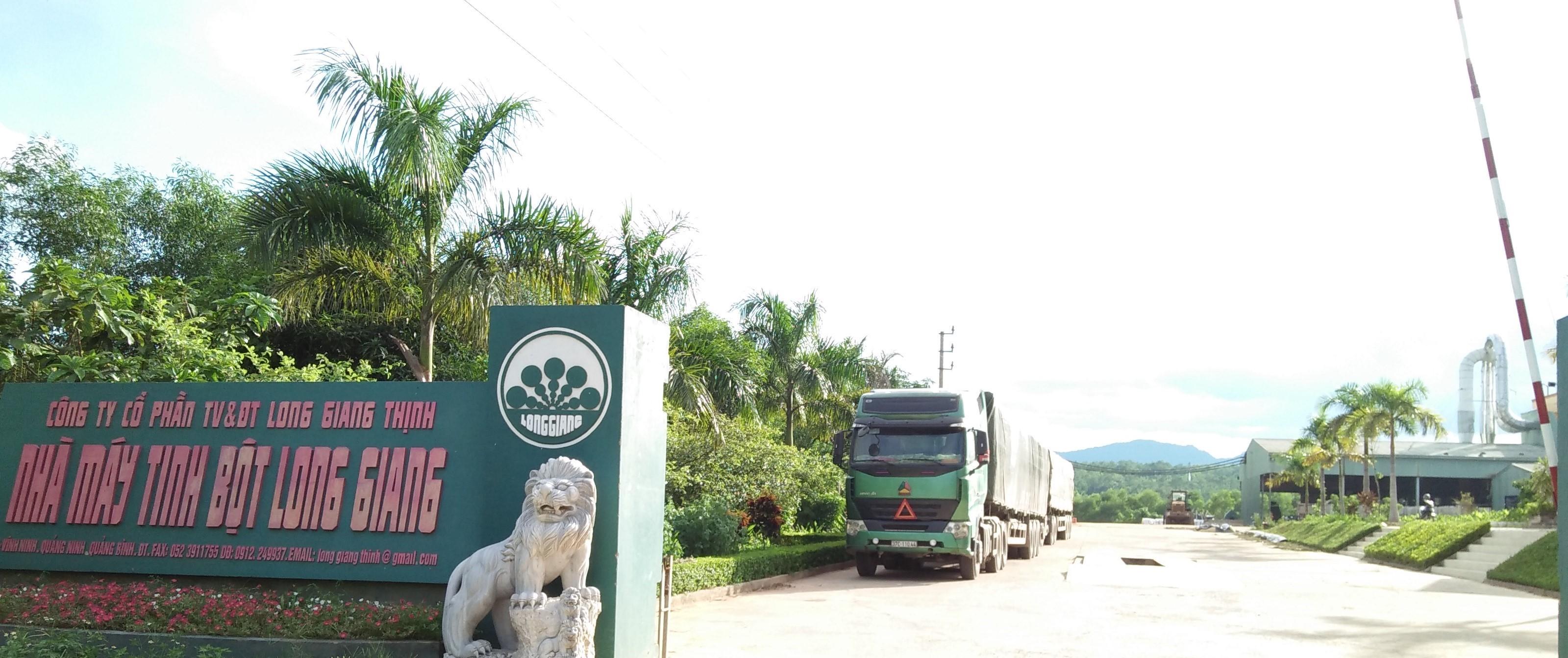 Tinh bột sắn Long Giang – Thương hiệu vàng nông nghiệp Việt Nam