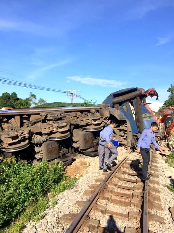 Tai nạn đường sắt tại Quảng Bình