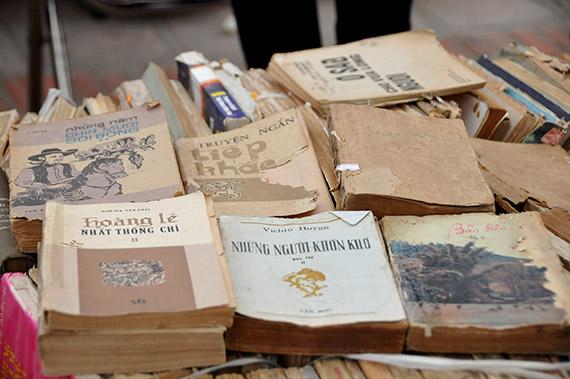 Hội sách cũ – Không gian của độc giả yêu thích hoài niệm