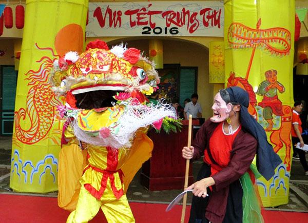 Vui Tết Trung thu tại Hoàng thành Thăng Long