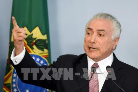 Ủy ban Hạ viện Brazil bác cáo buộc nhằm vào Tổng thống M.Temer