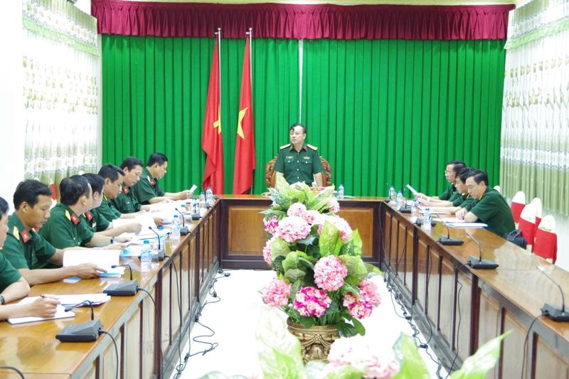 Bộ Tổng tham mưu kiểm tra công tác động viên tại Sóc Trăng