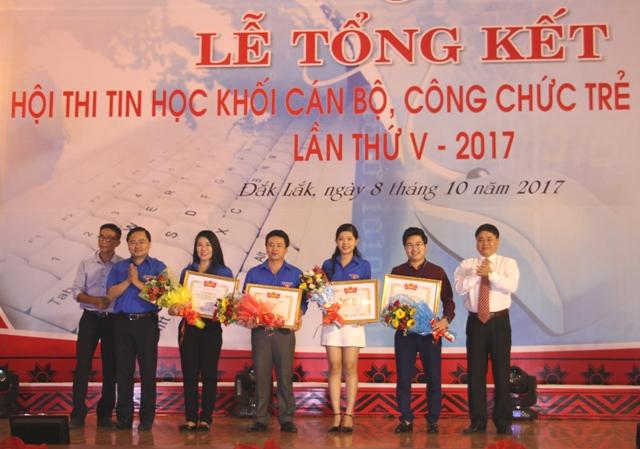 Hội thi Tin học khối cán bộ, công chức trẻ toàn quốc lần thứ V
