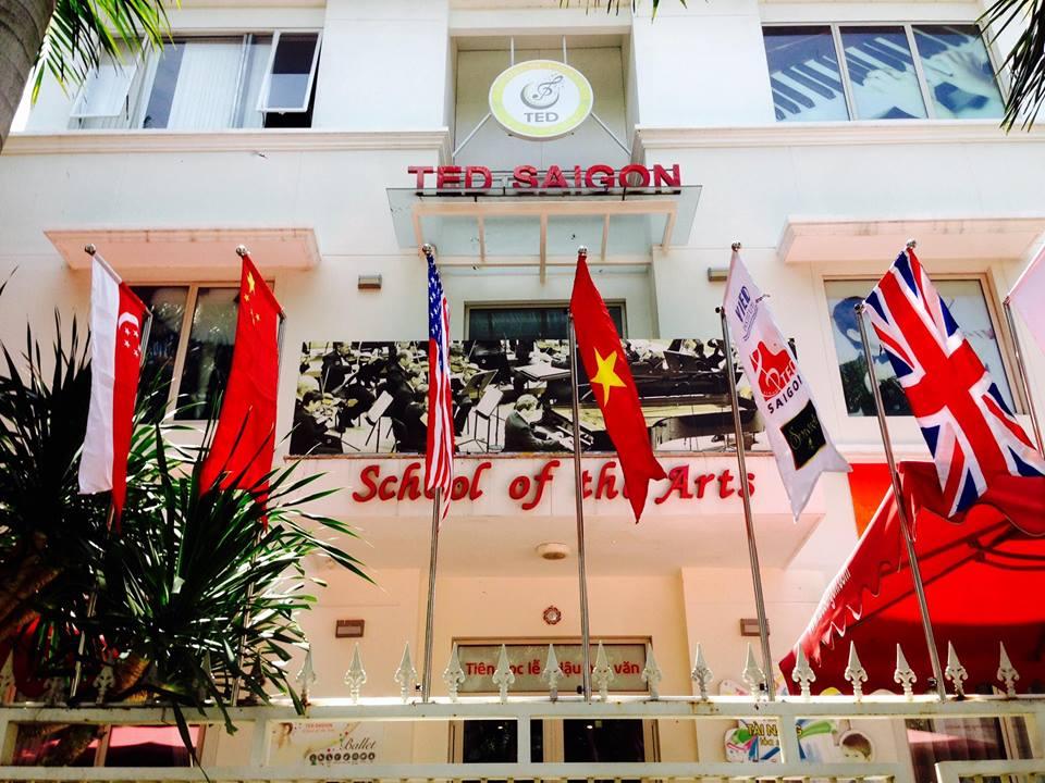 TED SAIGON: Ngôi trường ươm mầm tài năng nghệ thuật tỏa sáng